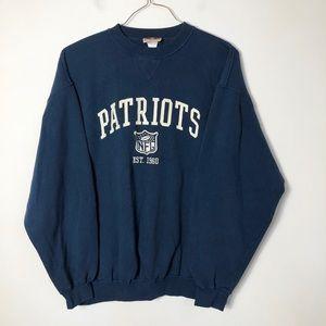 NFL originals vtg New England patriots crewneck